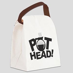 Pot Head Canvas Lunch Bag