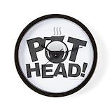 Pot head Wall Clocks
