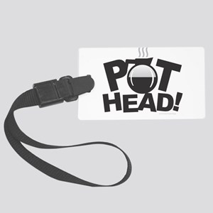 Pot Head Large Luggage Tag