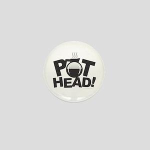 Pot Head Mini Button