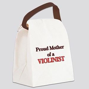 Proud Mother of a Violinist Canvas Lunch Bag