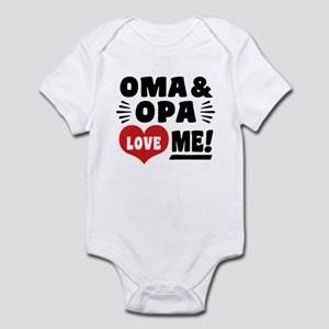 Oma and Opa Love Me Infant Bodysuit