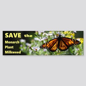 Save Monarchs Sticker (Bumper)