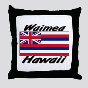 Waimea Hawaii Throw Pillow