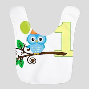 First Birthday Owl Bib