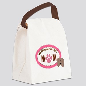Pet Mom Canvas Lunch Bag