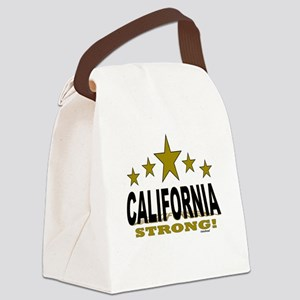 California Strong! Canvas Lunch Bag