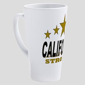 California Strong! 17 oz Latte Mug