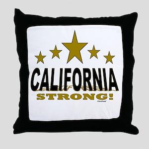 California Strong! Throw Pillow