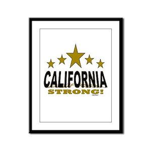 California Strong! Framed Panel Print
