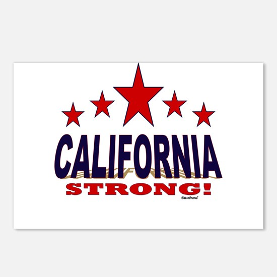 California Strong! Postcards (Package of 8)