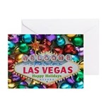 Las Vegas Jingle Bells Happy Holidays Cards 10