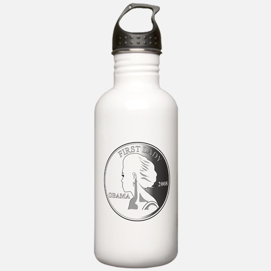 2-Michelle-GRAY1.png Sports Water Bottle