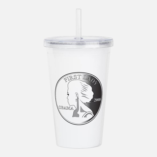 2-Michelle-GRAY1.png Acrylic Double-wall Tumbler
