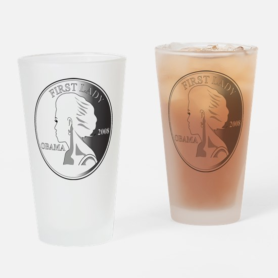 2-Michelle-GRAY1.png Drinking Glass
