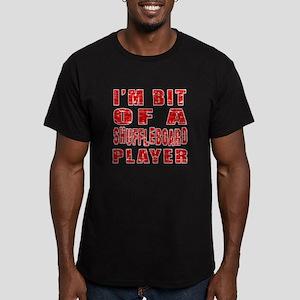 I'm Bit Of Shuffleboar Men's Fitted T-Shirt (dark)