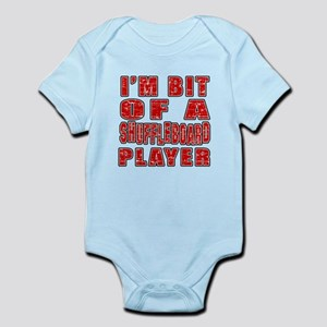 I'm Bit Of Shuffleboard Player Infant Bodysuit