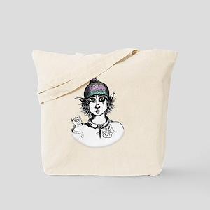 Teddy Boo and Ash Tote Bag