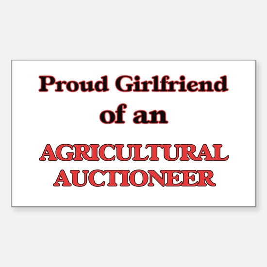 Proud Girlfriend of a Agricultural Auction Decal