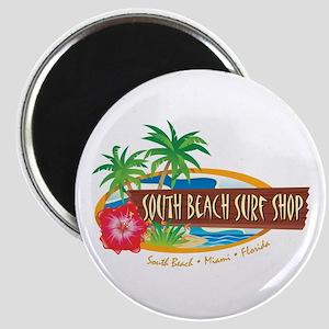 South Beach Surf Shop - Magnet