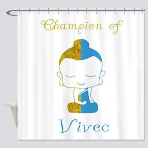 Champion Of Vivec Shower Curtain