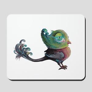 snotty pompbird Mousepad