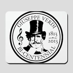 Giuseppe Verdi bicentennial Mousepad