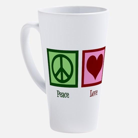 Cute Play piano 17 oz Latte Mug