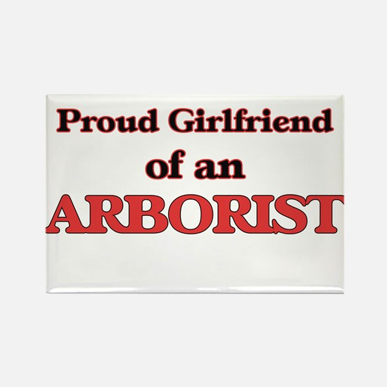 Proud Girlfriend of a Arborist Magnets