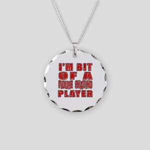 I'm Bit Of Figure Skating Pl Necklace Circle Charm