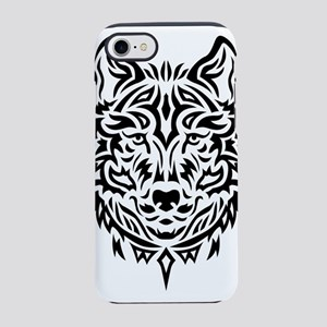 wolf tribal tattoo iPhone 8/7 Tough Case