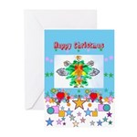 Greeting Cards (pk Of 20) Happy Christmas Fairy