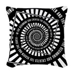 In The Beginning Woven Throw Pillow