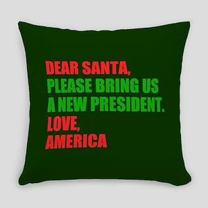 Dear Santa Impeach Trump Everyday Pillow