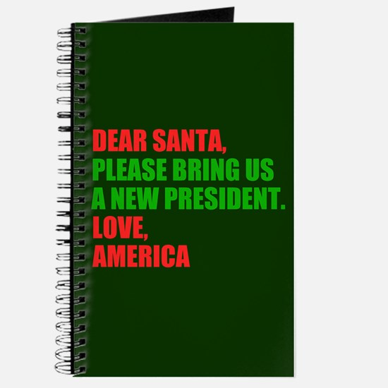 Dear Santa Impeach Trump Journal