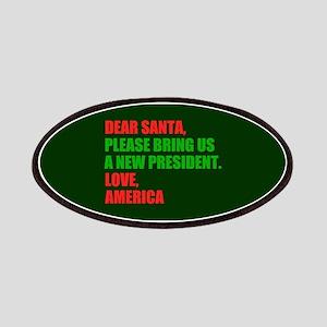 Dear Santa Impeach Trump Patch