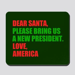 Dear Santa Impeach Trump Mousepad