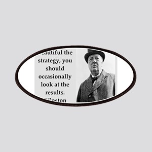Wisnton Churchill quote on gifts and t-shirts. Pat