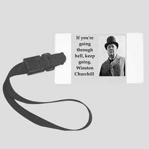 Wisnton Churchill quote on gifts and t-shirts. Lug