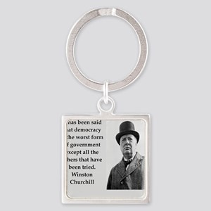 Wisnton Churchill quote on gifts and t-shirts. Key