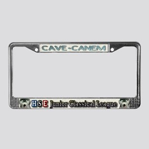 Mortifera Rana License Plate Frame