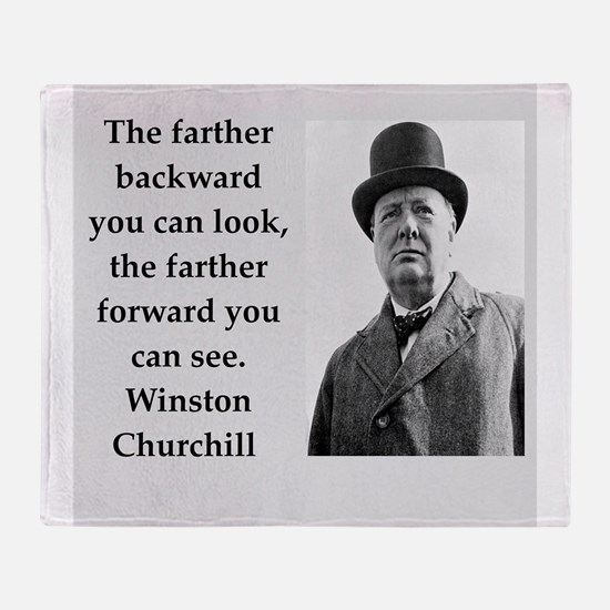 Wisnton Churchill quote on gifts and t-shirts. Thr
