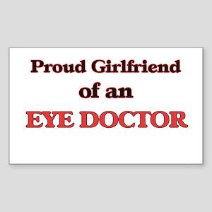 Proud Girlfriend of a Eye Doctor Sticker