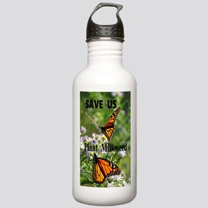 Save Monarchs Stainless Water Bottle 1.0L