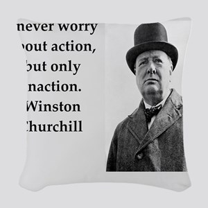 Wisnton Churchill quote on gifts and t-shirts. Wov