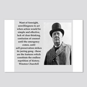 Wisnton Churchill quote on gifts and t-shirts. Pos