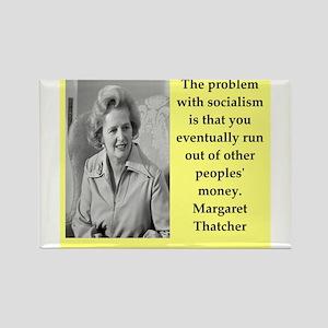 Margaret Thatcher quote Magnets