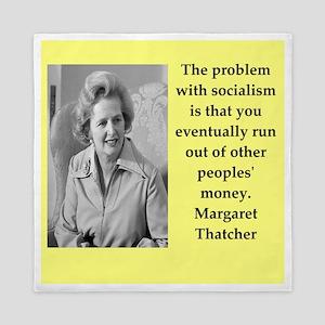 Margaret Thatcher quote Queen Duvet