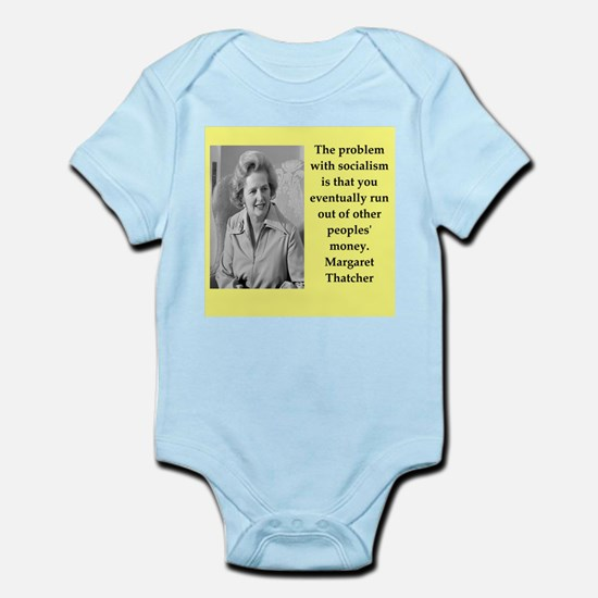 Margaret Thatcher quote Body Suit