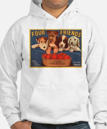 Vintage Four Friends Crate La Hoodie